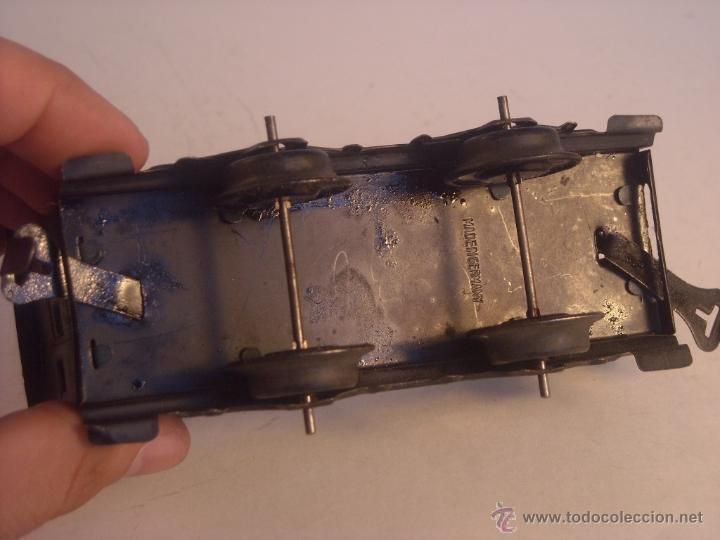 Trenes Escala: Antiguo coche pasajeros bing marklin bub ?? made in germany vagon escala 0 - Foto 6 - 43765482