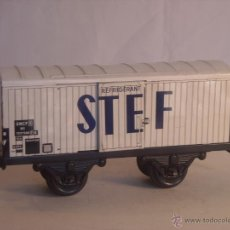 Trenes Escala: HORNBY MECCANO PARIS VAGON MERCANCIAS STEF ESCALA 0. Lote 43765596