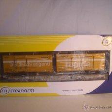 Trenes Escala: CREANORM ESCALA 0 REF 50140 POST CONTAINERWAGEN VAGON POSTAL DE LA SBB NUEVO. Lote 43784319