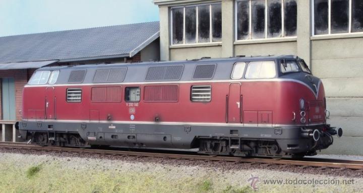 MBW ESCALA 0 REF 40140 1:43,5 LOCOMOTORA DIESEL BR 221 140-7 DB INTERFACE DIGITAL NUEVA (Juguetes - Trenes Escala 0)