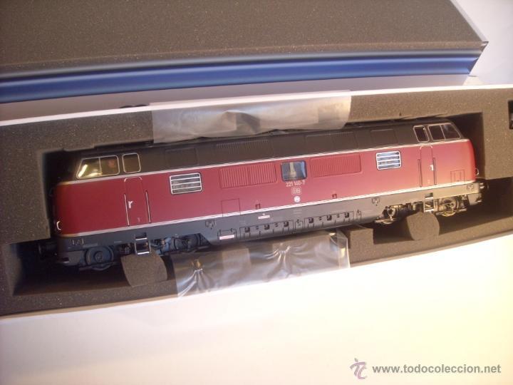 Trenes Escala: MBW escala 0 ref 40140 1:43,5 locomotora diesel BR 221 140-7 DB interface digital Nueva - Foto 7 - 166843533