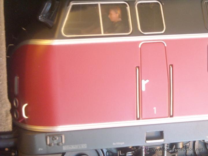 Trenes Escala: MBW escala 0 ref 40140 1:43,5 locomotora diesel BR 221 140-7 DB interface digital Nueva - Foto 2 - 166843533