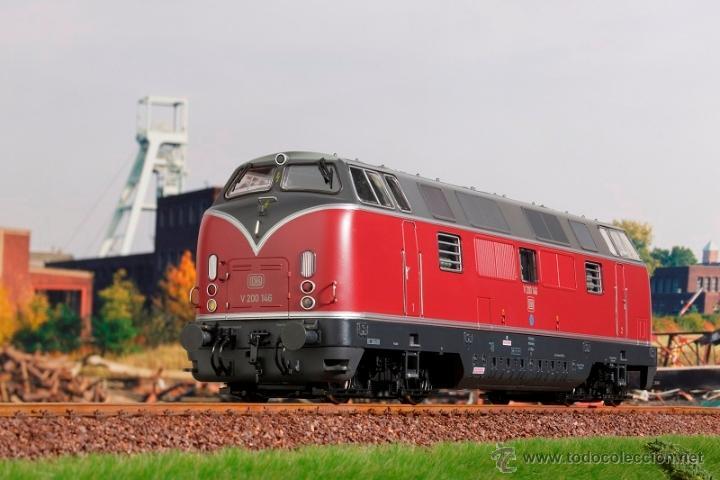 Trenes Escala: MBW escala 0 ref 40140 1:43,5 locomotora diesel BR 221 140-7 DB interface digital Nueva - Foto 4 - 166843533