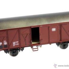 Trenes Escala: MBW ESCALA 0 REF 80164 VAGÓN MERCANCIAS CERRADO DE LA DB 1:43,5 NUEVO. Lote 43904237