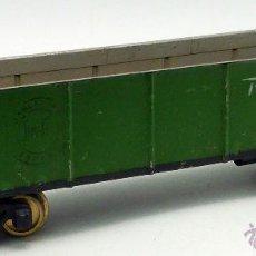 Trenes Escala: VAGON AMERICANO MERCANCIAS JOSFEL RIO GRANDE AÑOS 40 34 CM. Lote 49013820