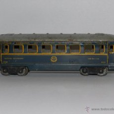 Trenes Escala: (M) VAGON HORNBY FAB EN FRANCE MECCANO - VOITURE RESTAURANT DINING CAR , ANTIGUO. Lote 50498194