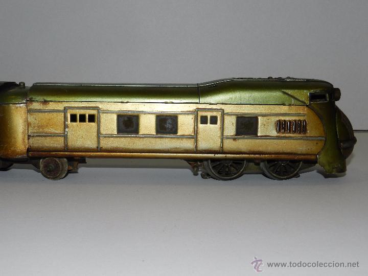 Trenes Escala: TREN PAYA ANTIGUO ,58 CM DE LARGO , SEÑALES DE USO, VER FOTOGRAFIAS ADICIONALES - Foto 6 - 50498584