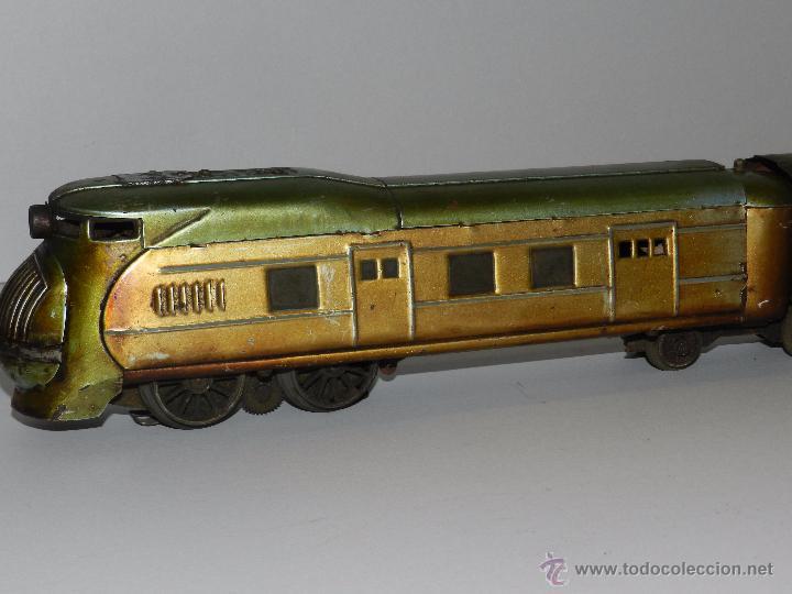 Trenes Escala: TREN PAYA ANTIGUO ,58 CM DE LARGO , SEÑALES DE USO, VER FOTOGRAFIAS ADICIONALES - Foto 9 - 50498584