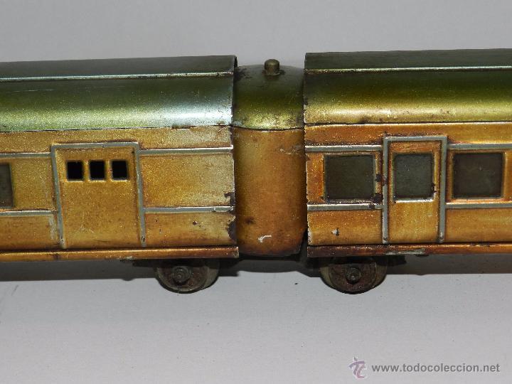 Trenes Escala: TREN PAYA ANTIGUO ,58 CM DE LARGO , SEÑALES DE USO, VER FOTOGRAFIAS ADICIONALES - Foto 11 - 50498584