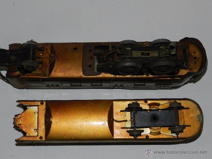 Trenes Escala: TREN PAYA ANTIGUO ,58 CM DE LARGO , SEÑALES DE USO, VER FOTOGRAFIAS ADICIONALES - Foto 18 - 50498584