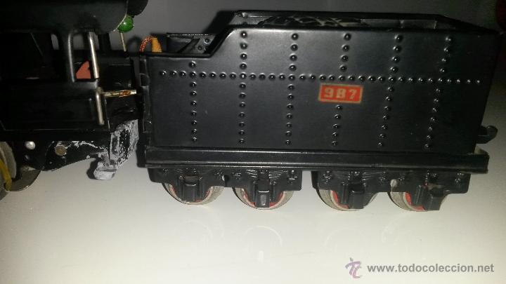 Trenes Escala: PAYA MAQUINA CON CARBONERA 987 DE ESCALA 0 - Foto 9 - 51200610