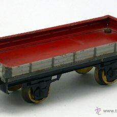 Trenes Escala: VAGÓN MERCANCÍAS JOSFEL PLATAFORMA ESCALA 0 AÑOS 40. Lote 52039549