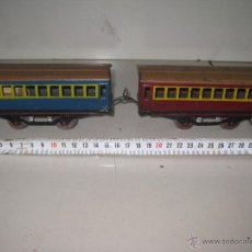 Trenes Escala: LOTE 2 VAGONES ESCALA 0. Lote 53361552