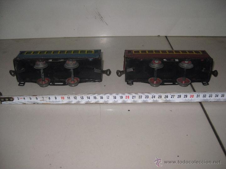 Trenes Escala: LOTE 2 VAGONES ESCALA 0 - Foto 2 - 53361552