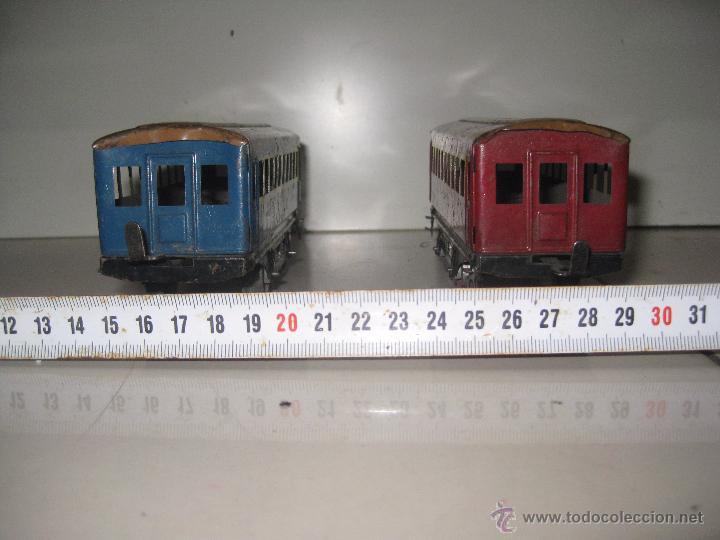 Trenes Escala: LOTE 2 VAGONES ESCALA 0 - Foto 3 - 53361552