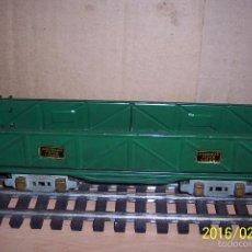Trenes Escala: IMPECABLE, ORIGINAL GONDOLA COMPLETA, ESCALA 0. Lote 55687240