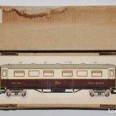 Trenes Escala: CAJA TREN COCHE BUTACAS P.H. 1376 ESCALA 0 JUGUETES PAYA . Lote 67287509