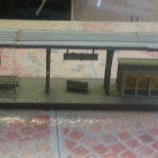 Trenes Escala: ANTIGUO APEADERO ELECTROTREN H0 . Lote 68390274