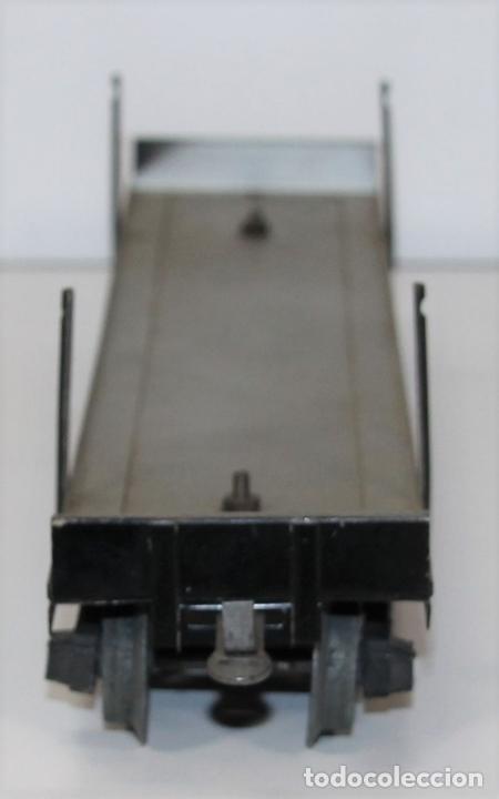 Trenes Escala: VAGÓN DE MERCANCIAS PENSILVANIA. METAL. JOSFEL. ESCALA 0. ESPAÑA. CIRCA 1940. - Foto 5 - 69260989