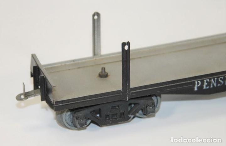 Trenes Escala: VAGÓN DE MERCANCIAS PENSILVANIA. METAL. JOSFEL. ESCALA 0. ESPAÑA. CIRCA 1940. - Foto 6 - 69260989