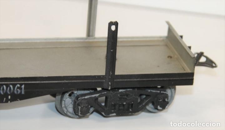 Trenes Escala: VAGÓN DE MERCANCIAS PENSILVANIA. METAL. JOSFEL. ESCALA 0. ESPAÑA. CIRCA 1940. - Foto 8 - 69260989