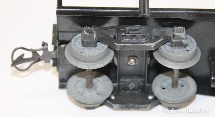 Trenes Escala: VAGÓN DE MERCANCIAS PENSILVANIA. METAL. JOSFEL. ESCALA 0. ESPAÑA. CIRCA 1940. - Foto 10 - 69260989