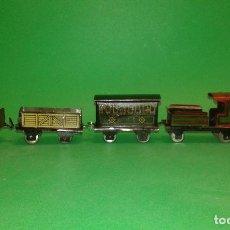 Trenes Escala: TREN COMPLETO - PENNY TOY - DE HESS , AÑOS 20/30 (TIPO PAYA, RICO, BING, CKO). Lote 63550304