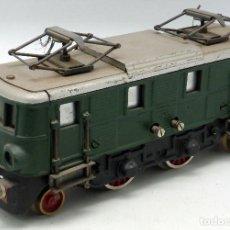 Trenes Escala: LOCOMOTORA VERDE JOSFEL 0 CORTA AÑOS 40 - 50 NUEVA SIN USO. Lote 167011021