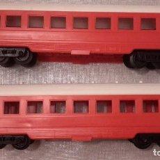 Trenes Escala: PAYA. DOS VAGONES DE VIAJEROS ESCALA O.. Lote 77641577