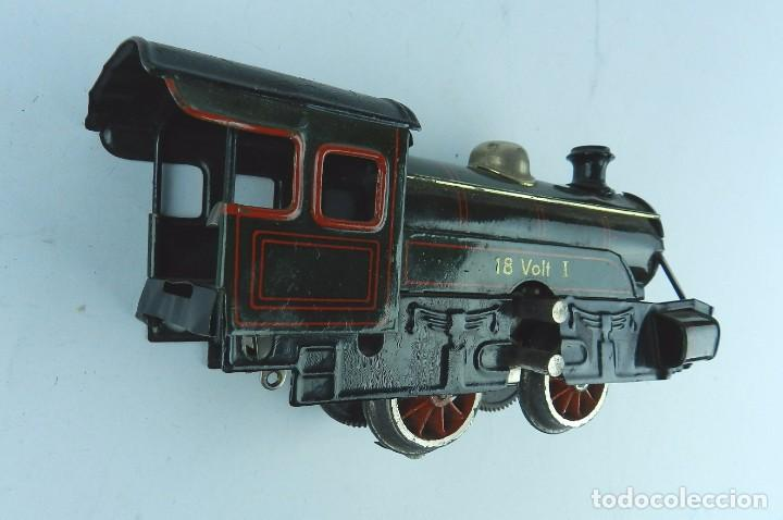 Trenes Escala: TREN BING ESCALA O, MADE IN GERMANY, REALIZADO EN HOJALATA LITOGRAFIADA, MUY COMPLETO CON SUS VAGONE - Foto 9 - 80829795
