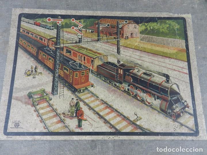 Trenes Escala: TREN BING ESCALA O, MADE IN GERMANY, REALIZADO EN HOJALATA LITOGRAFIADA, MUY COMPLETO CON SUS VAGONE - Foto 21 - 80829795