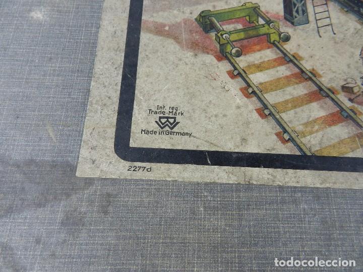 Trenes Escala: TREN BING ESCALA O, MADE IN GERMANY, REALIZADO EN HOJALATA LITOGRAFIADA, MUY COMPLETO CON SUS VAGONE - Foto 22 - 80829795