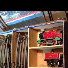 Trenes Escala: TREN HORBY ENGLAND AÑOS 40 EN CAJA. Lote 86684456