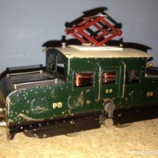 Trenes Escala: LOCOMOTORA ROUSEL FRANCESA ESCALA 0 AÑOS 40. Lote 86855163