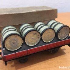 Trenes Escala: JOSFEL RENFE MZA ESCALA 0 TRANSPORTE DE TONELES CAJA ORIGINAL ELECTROTREN. Lote 87888736