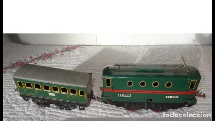 Trenes Escala: Locomotora años 40 a cuerda - Foto 3 - 88320672