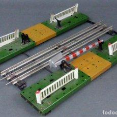 Trenes Escala: PASO A NIVEL PAYA ESCALA 0 HOJALATA METAL AÑOS 50. Lote 96512691