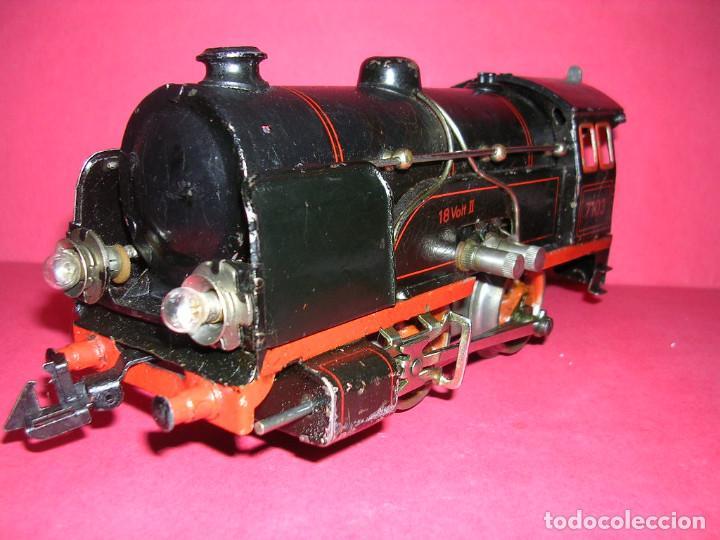 Trenes Escala: TREN BING -1930 .ELECTRICO 18 V. LOCO +TENDER + 2 VAGONES - Foto 2 - 98159047