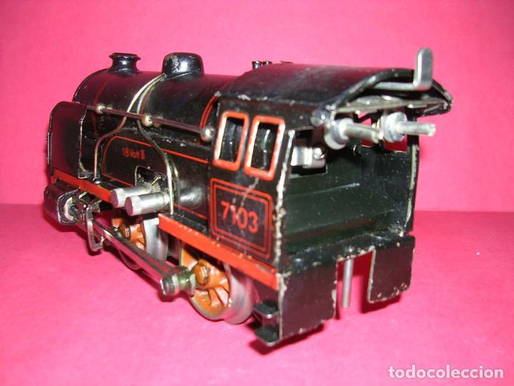 Trenes Escala: TREN BING -1930 .ELECTRICO 18 V. LOCO +TENDER + 2 VAGONES - Foto 3 - 98159047