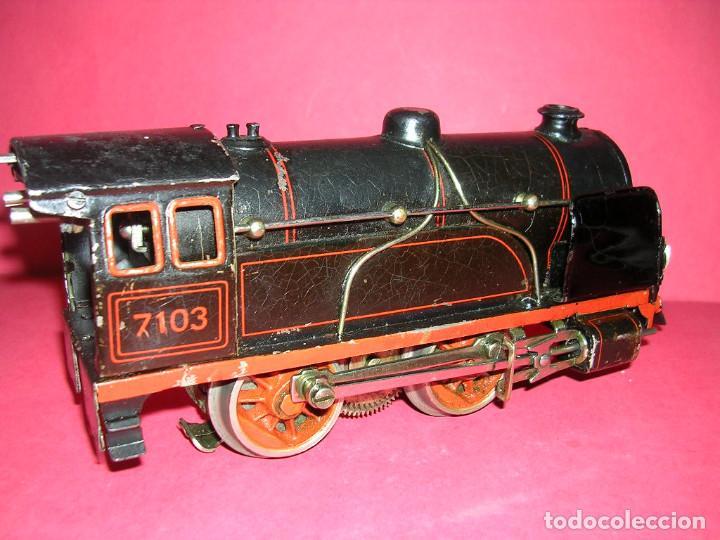 Trenes Escala: TREN BING -1930 .ELECTRICO 18 V. LOCO +TENDER + 2 VAGONES - Foto 4 - 98159047
