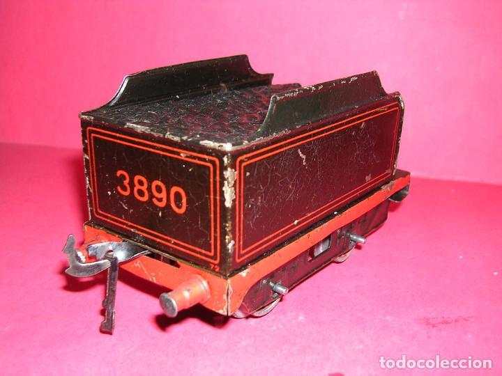 Trenes Escala: TREN BING -1930 .ELECTRICO 18 V. LOCO +TENDER + 2 VAGONES - Foto 6 - 98159047