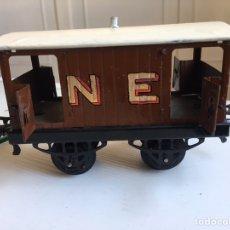Trenes Escala: VAGÓN HORNBY ESCALA 0 CON 4 PUERTAS. Lote 98651228