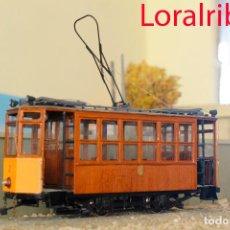 Trenes Escala: TRANVÍA SÓLLER 2 ESCALA 1/43 0M ARTESANAL PRECIO LIQUIDACIÓN MALLORCA TRAM VERSIÓN AÑOS 60. Lote 81058435