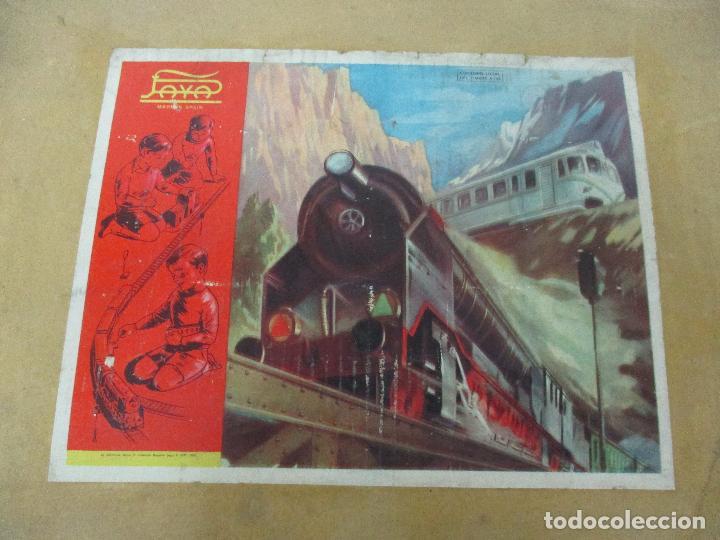 Trenes Escala: Tren Paya - Escala 0 - Locomotora Fantasma - Vagón Correos - Caja Original - Foto 3 - 102708623