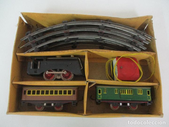 Trenes Escala: Tren Paya - Escala 0 - Locomotora Fantasma - Vagón Correos - Caja Original - Foto 4 - 102708623