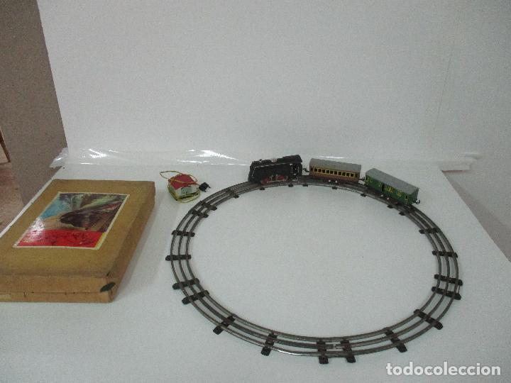 Trenes Escala: Tren Paya - Escala 0 - Locomotora Fantasma - Vagón Correos - Caja Original - Foto 7 - 102708623