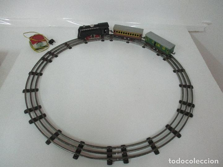 Trenes Escala: Tren Paya - Escala 0 - Locomotora Fantasma - Vagón Correos - Caja Original - Foto 8 - 102708623