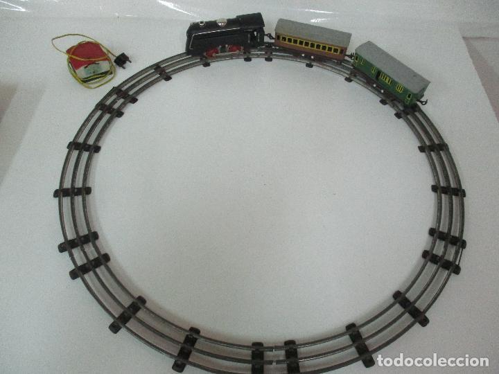 Trenes Escala: Tren Paya - Escala 0 - Locomotora Fantasma - Vagón Correos - Caja Original - Foto 9 - 102708623