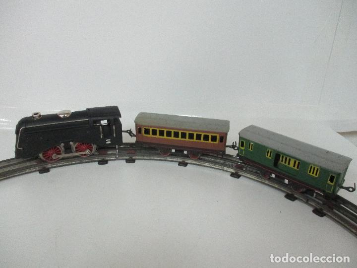 Trenes Escala: Tren Paya - Escala 0 - Locomotora Fantasma - Vagón Correos - Caja Original - Foto 11 - 102708623