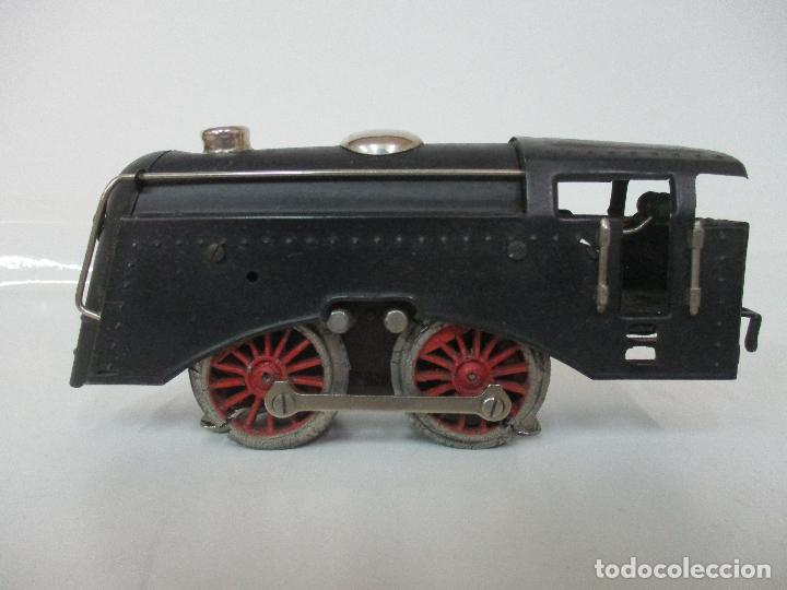 Trenes Escala: Tren Paya - Escala 0 - Locomotora Fantasma - Vagón Correos - Caja Original - Foto 12 - 102708623